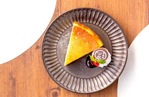 濃厚チーズケーキ 520円(税込)のイメージ画像