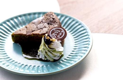 めっちゃ抹茶ガトーショコラ 580円(税込)のイメージ画像