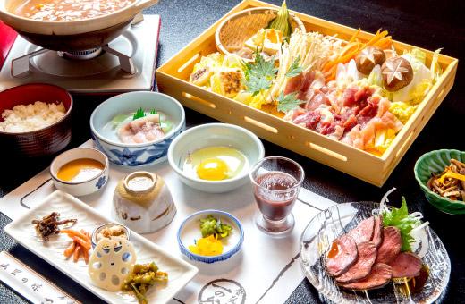 雉鍋定食 5,000円(税込)のイメージ画像