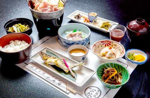 山菜定食 3,500円(税込)のイメージ画像