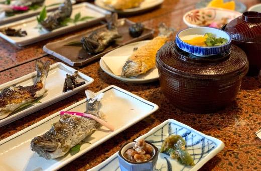 あまご定食(3月~5月) 3,000円(税込)のイメージ画像