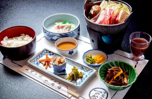 一人猪鍋定食 2,600円(税込)のイメージ画像